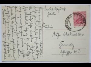 D.Reich, Bahnpost Hainsberg - Kipsdorf, 1919 (22477)