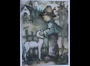 Hummel, Kinder, Lamm, 1950 ♥ (10745)