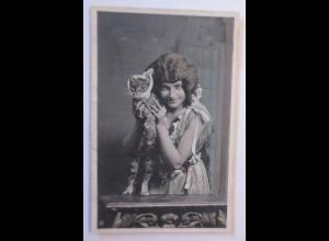 Katzen, Kinder, Mode, Zahnschmerzen, 1906 ♥