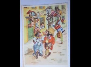 """Personifizierte Affen, Karneval, Fasching"" 1950 ♥ (27246)"