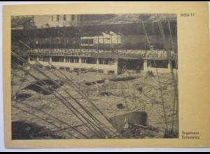 Österreich zerstörtes Wien 1945 Engelmann Eislaufplatz