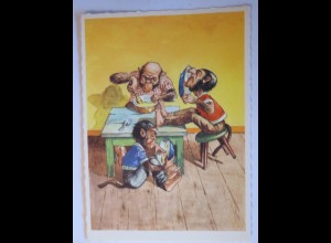 """""""Personifizierte Affen, Mittagessen"""" 1950 ♥ (27239)"""