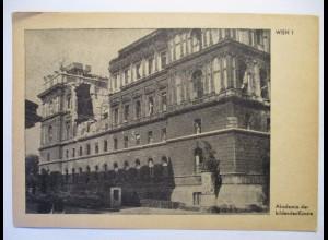 Österreich zerstörtes Wien 1945 Akademie der bildenden Künste (6832)