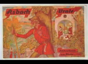 Reklame, Werbung, Asbach Uralt, Rüdesheim am Rhein, ca. 1930