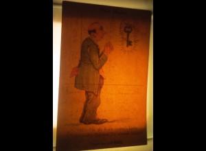 """""""Neujahr, Männer, Schlüssel"""" 1930, Halt gegen das Licht ♥ (53779)"""