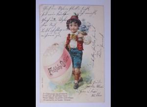 Ostern, Kinder, Mode, Osterei, Blumen, 1901 ♥ (63073)
