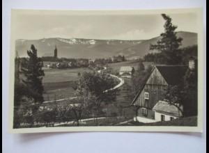 Schlesien, Polen, Mittel-Schreiberhau,Szklarska Poręba, Fotokarte (34132)