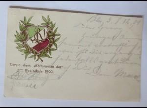 Studentika, Berlin, Verein ehem. Abiturienten der achten Realschule 1901 ♥