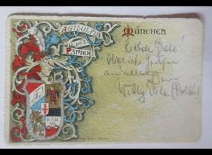 Studentika, München, Agilolfia sei´s Panier, 1901 ♥