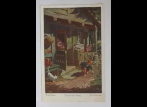 Märchen, Hänsel und Gretel, Brüder Grimm, 1933, Otto Kubel ♥ (34146)