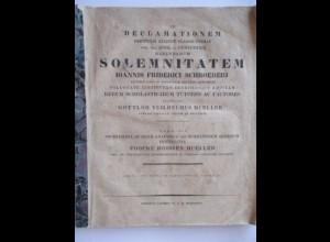 Fooke Hoissen Müller, Mathematik, 1833 Gymnasium Torgau, 46 Seiten kpl.