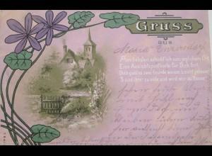 """""""Spruch, Haus, Jugendstil"""" 1898 ♥"""