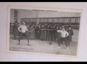 Chocolat Lombart, Fechten, Sport, 1910 ♥