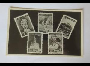 """""""Briefmarkensprache"""" 1938, Ungarn ♥"""