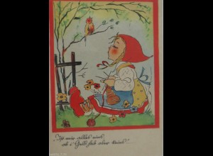 """Kinder, Stricken, Vogel"" 1947 ♥"