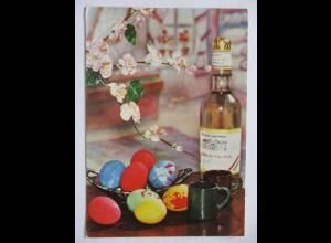 Ostern Reklame Werbung Brandy Schnaps, Barackpálinka, Ungarn 1971 (50605)