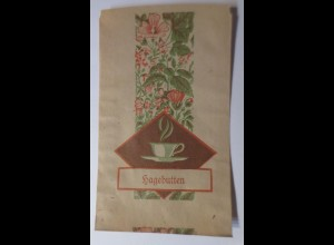 Werbung, Reklame, Kaufladen Tütchen, Hageputten Tee, ca. 1920 ♥ (69578)