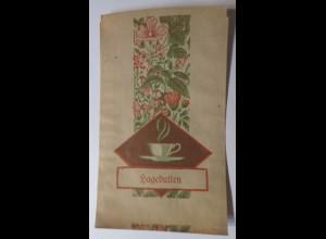 Werbung, Reklame, Kaufladen Tütchen, Hageputten Tee, ca. 1920 ♥ (69579)