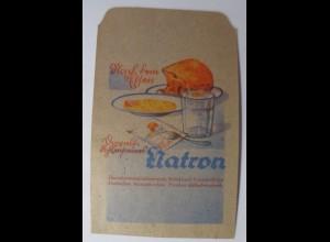 Werbung, Reklame, Kaufladen Tütchen, Natron, ca. 1920 ♥ (61266)