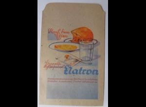 Werbung, Reklame, Kaufladen Tütchen, Natron, ca. 1920 ♥ (31025)
