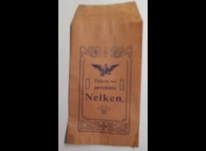 Werbung, Reklame, Kaufladen Tütchen, Nelken, ca. 1920 ♥ (42465)