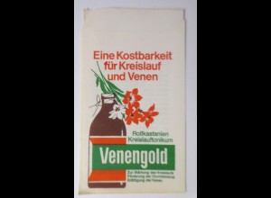 Werbung, Reklame, Kaufladen Tütchen, Venengold, Wuppertal ♥(8763)