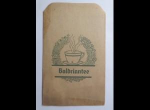 Werbung, Reklame, Kaufladen Tütchen, Baldriantee, ca.1920 ♥ (69595)