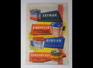Werbung, Reklame, Kaufladen Tütchen, Leiman Kaltleim ( Express-Binder) ♥ (69599)