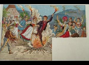"""""""Elsaß, Kostüm, Feier"""" 1900 ♥"""