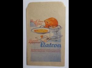 Werbung, Reklame, Kaufladen Tütchen, Natron ♥ (46482)