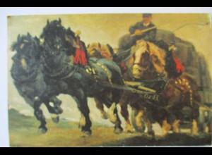 Werbung Reklame, Haldengut Bier, Kutsche Bierkutsche ca.1930