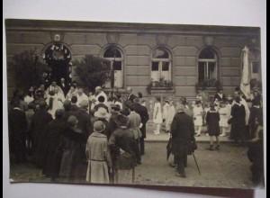 Österreich, Wien Gottesdienst Kommunion, Fotokarte (39207)