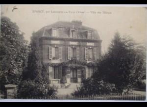 Frankreich Eparcy par Landouzy, Villa, ca. 1918