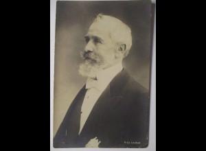 Frankreich, Präsident Émile Loubet, Fotokarte ca. 1900 (26110)