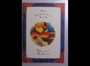 Folder, Weihnachten, Motive,Geschichten aus Kanada mit 4 Briefmarken 1992 ♥