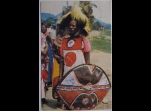 Tansania, Man dancer from Arusha (52812)