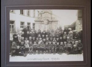Vilseck Bayern, Schulklasse 1930 großformatiges original Foto Greiner Grafenwöhr
