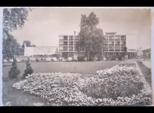 Reutlingen, Listplatz mit Parkhotel, 1958