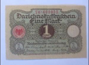 Notgeld, Darlehnskassenschein Eine Mark 1920 ♥