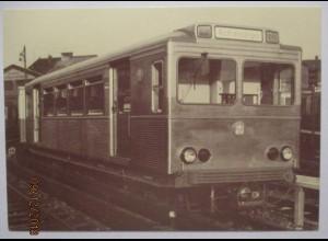 Straßenbahn Hochbahn Hamburg, Sonderkarte 1987 mit SST (14295)