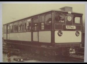 Straßenbahn Hochbahn Hamburg, Sonderkarte 1987 mit SST (66648)