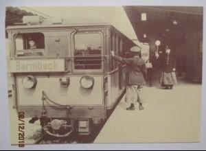 Straßenbahn Hochbahn Hamburg, Sonderkarte 1987 mit SST (18958)