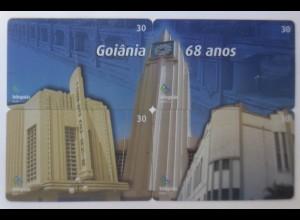 4.Telefonkarten, Goiania 68 Anos, Brasilien Nr.30 ♥ (61294)