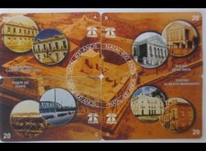 4.Telefonkarten, Brasilien, Natal 400 Anos, Nr.20 ♥ (53345)