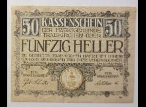 Notgeld Österreich 50 Heller Gemeinde Traiskirchen 1920 ♥ (8842)