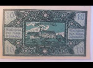 Notgeld Österreich 10 Heller Gemeinde Utzenaich 1920 ♥ (8713)