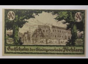 Notgeld Österreich 90 Heller Stadtgemeinde Pöchlarn 1920 ♥ (8949)