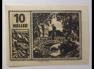 Notgeld Österreich 10 Heller Gemeinde Maxglan ♥ (9195)