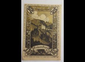 Notgeld Österreich 10 Heller Die Gemeinde Pettenbach, Seisenburg ♥ (9220)