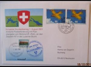 Zeppelin NT Bundesfeiertag Schweiz 2001 (31087)